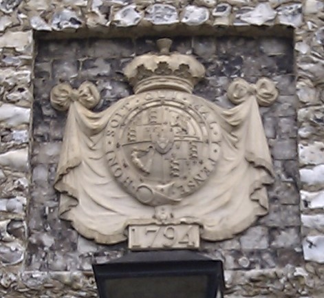 Look out for these Coade stone plaques….