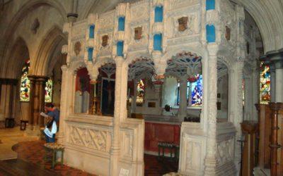 A Visit to the De La Warr Chantry