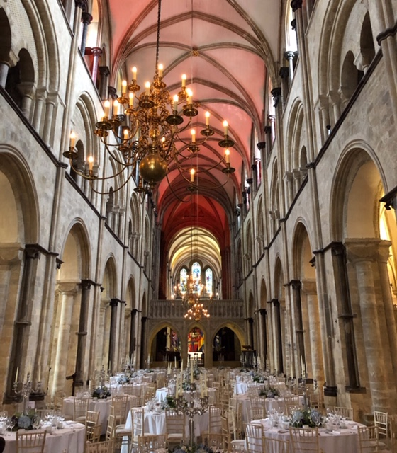 Dinner in the Cathedral