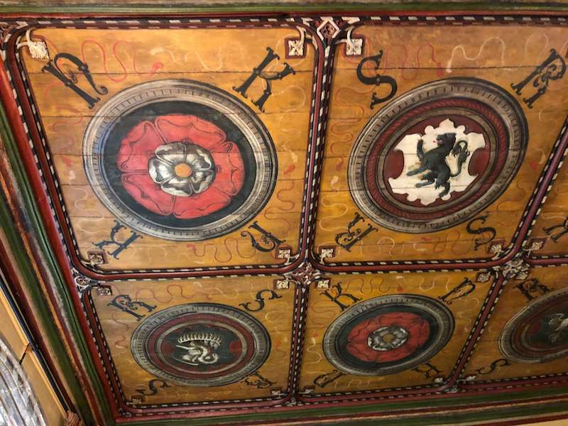 The Sherborne Room Ceiling!