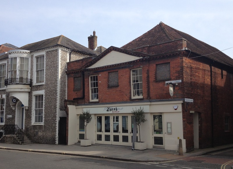 Zizzi's in South Street, Chichester