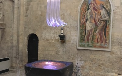 'Connection' in Chichester Cathedral
